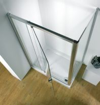 Kudos Original Pivot Wide Door. Silver