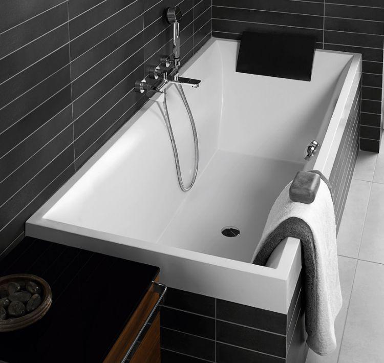 Villeroy & Boch \'Squaro\' built in baths   Aquarius of Howden